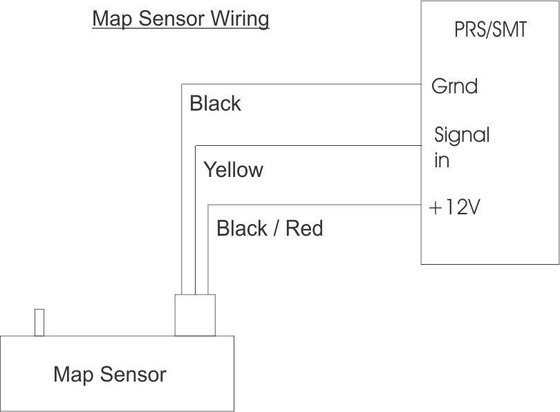 SMT6 Piggy-Back Unit - Map Sensor Wiring