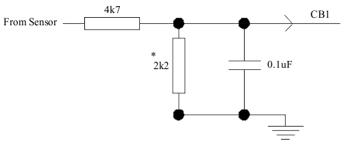 XMS5 Stand Alone Unit - External Input Filter Wiring