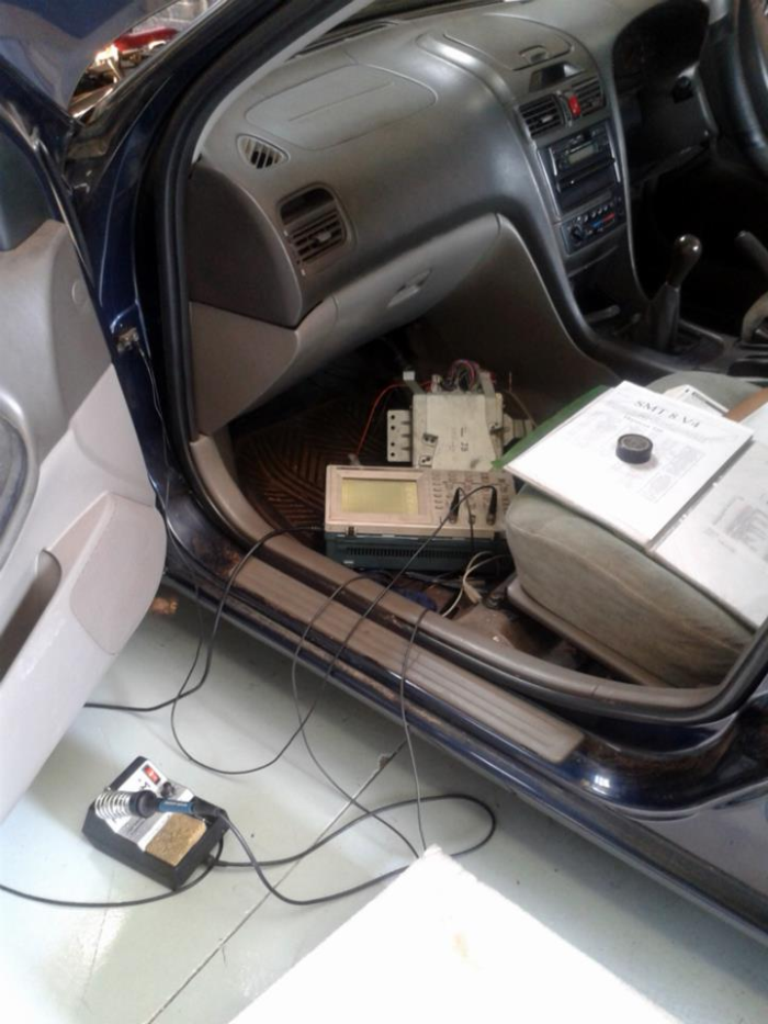 Nissan Maxima XMS5A installation