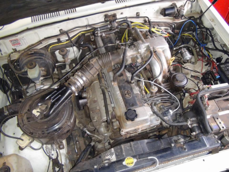 Toyota Land Cruiser 4.5L with XMS5B