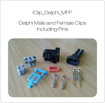 Delphi MFP Injector Clips