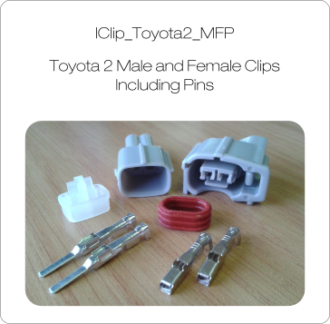 Toyota 2 MFP Injector Clips