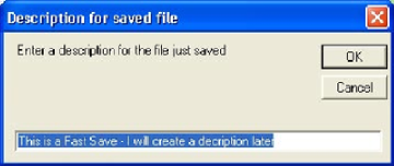 LetRipp II Windows Tuning Software - Using the Fast Save Function