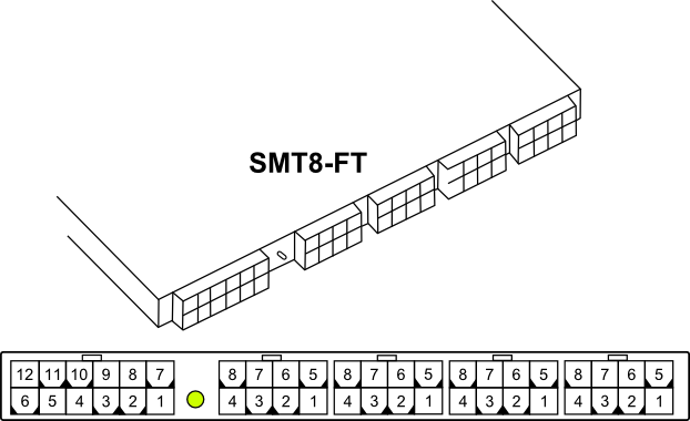 SMT8-FT - Pin-Outs and Connections