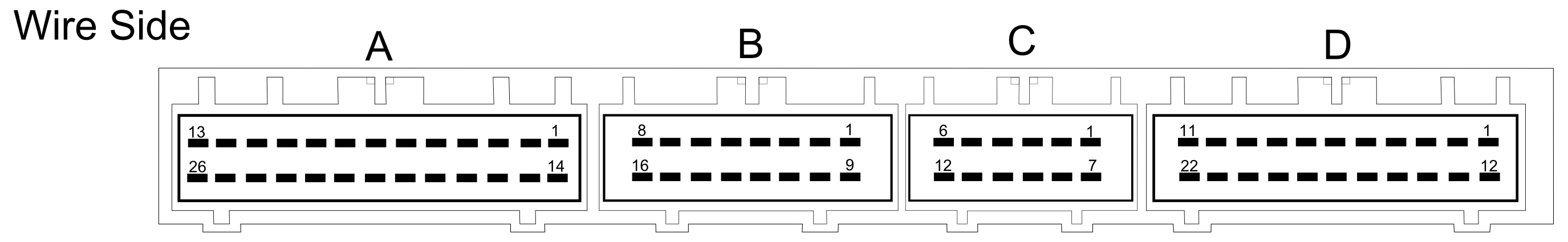 Perfectpower Wiring Diagrams For Volvo S40 V40 18 Gdi B4184sm Melco 1 Ecu Connector Of A Model Showing The Piggy Back Chip
