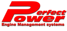 Perfectpower logo, our fuel injection and performance brand
